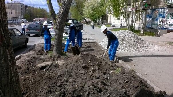 Укладка тротуарной плитки с подготовкой основанияwww.nebessagroup.ru
