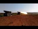 Операции РСЗО БМ-21 «Град» в северной местности провинции Хама