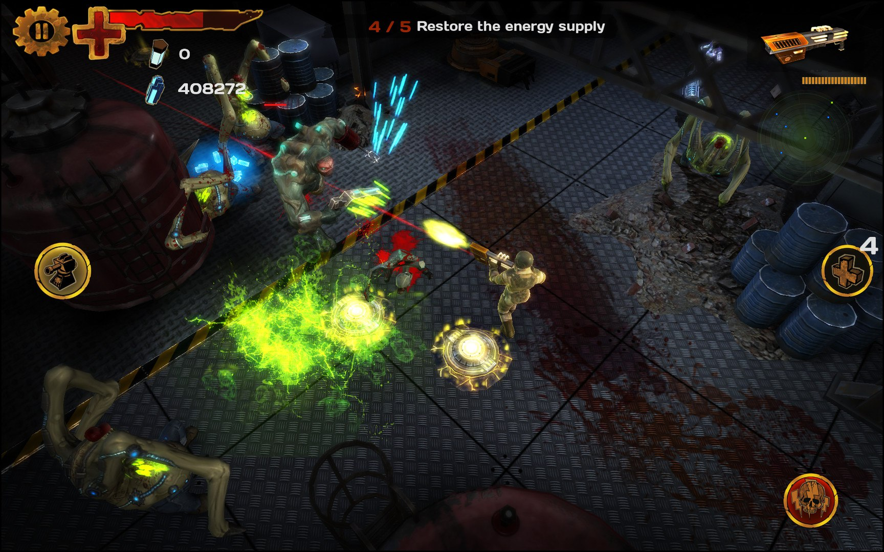 Guns'N'Zombies: N'Aliens (2015) PC - Скриншот 1