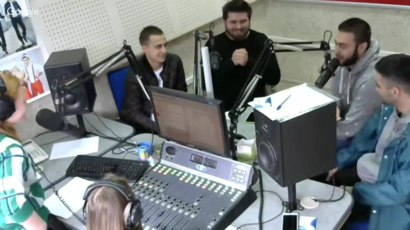 Бригада в гостях у HIT FM