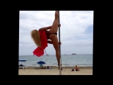 The worlds best pole dancer - Anastasia Sokolova - Pole Dance - Ibiza 2014
