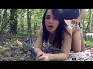 порно видео пьяных на природе