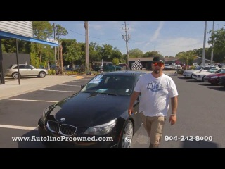 Autoline Preowned 2008 BMW 5 Series 550i Walk Around Review Test Drive Used For Sale Jacksonville