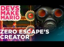 Zero Escape Creator Kotaro Uchikoshi Plays Super Mario Maker — DEVS MAKE MARIO