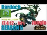 TL Dardoch | Nidalee Jungle | Pro Replays highlights ✔97