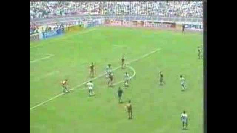 NEGRETE MEXICO 86 GOLAZO vs BULGARIA