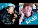 BTS EXPECTATION VS REALITY 1