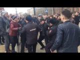 Задержание активистов на митинге в Хабаровске