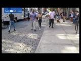 26 июля: Джиджи на съемках для «Maybelline New York» в Нью-Йорке, США.