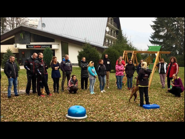 Seminar with Mirjam Knauer in Slovakia 11/2016