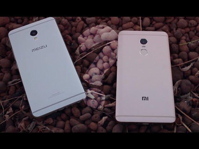 Xiaomi Redmi Note 4 Meizu M3e СРАВНЕНИЕ