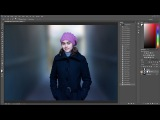 Photoshop tutorial: Blurry background