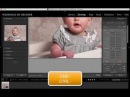 Lightroom Tutorial - Removing Purple, Blue or Red Color Casts from Newborn Skin
