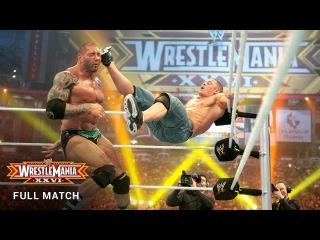 FULL MATCH — Batista vs. John Cena - WWE Title Match: WrestleMania XXVI (WWE Network Exclusive)