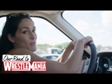 Nikki Bella's road trip to WrestleMania with her bro and their funny gas station story!