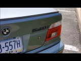 Eamon's 2001 BMW 540i6 Introduction