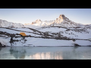 Поход к озёрам у ледника Бирджалы (Кынчырсырт). Северное Приэльбрусье, 2016.