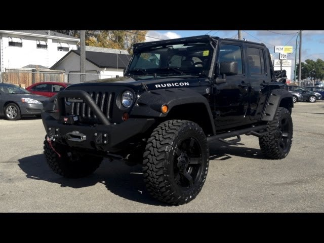 Lifted 2012 Jeep Wrangler Rubicon - Winnipeg MB - Ride Time
