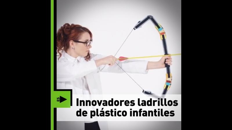 Innovadores ladrillos de plástico infantiles
