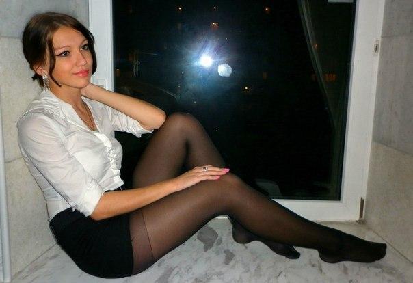 Glamour stocking sex