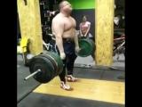 Влад Алхазов, тяга 405 кг