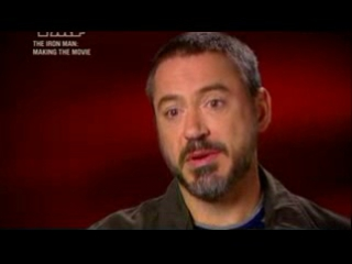 Железный человек/Iron Man (2008) Ролик о съёмках, часть 1