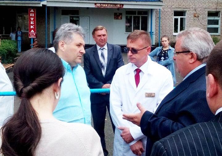 Зеленчукский район посетил помощник полномочного представителя Президента РФ в СКФО