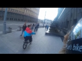 ВЫХОДНЫЕ НА BMX  Поломка  Чуть не сбила машина  