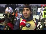 Biathlon - CdM (H) - Nove Mesto - Fourcade «Content davoir remis du sportif au premier plan»