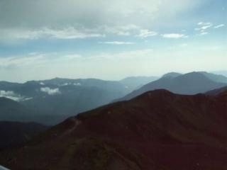 В горах Красной Поляны всего 13 градусов, дождик и пронизывающий холодный сильный ветер!