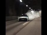 BMW E30 Massive Burnout <3