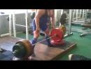 Становая тяга 240-245 кг (Тимофей Иванов)