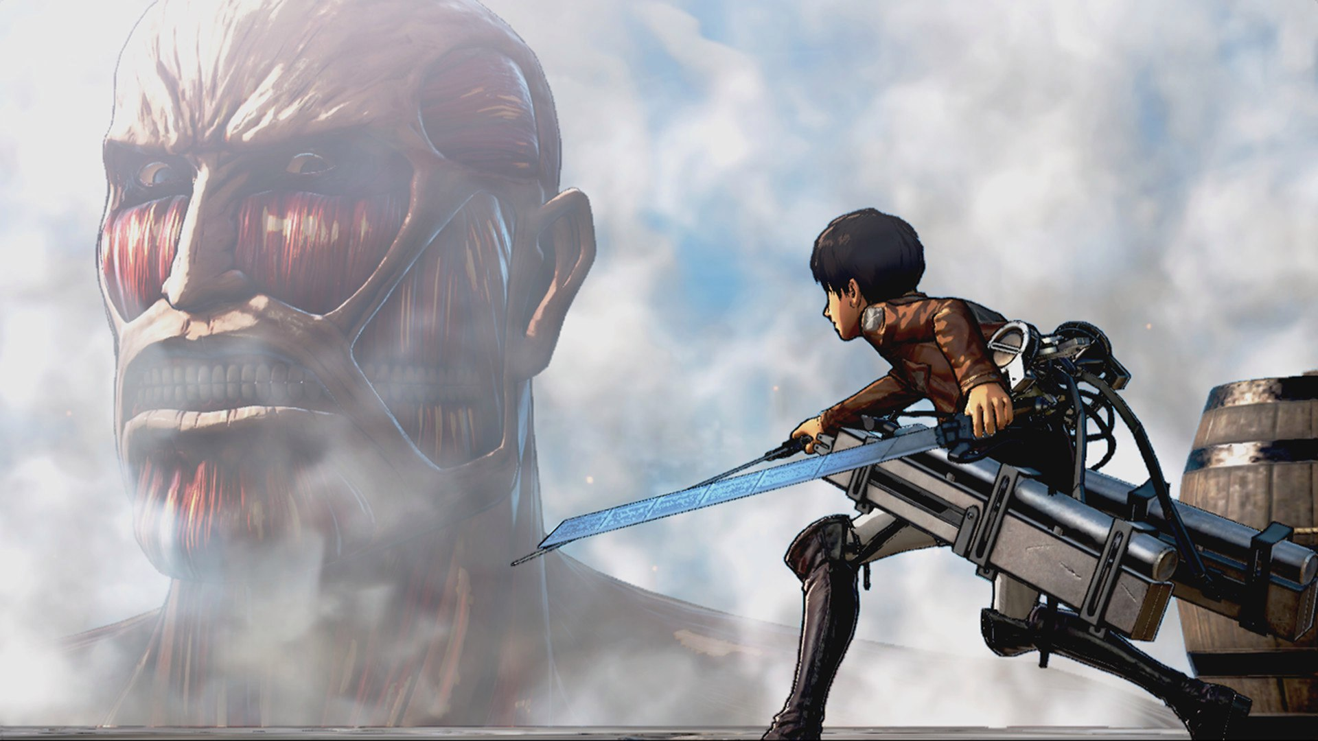 Attack on Titan / A.O.T. Wings of Freedom (2016) PC - Скриншот 1