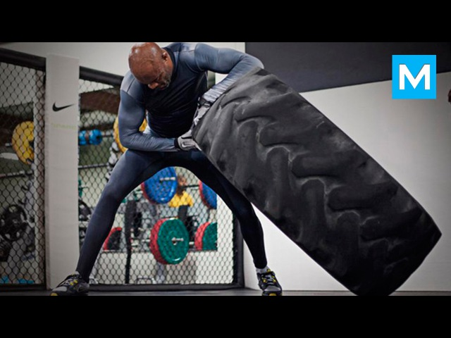 Anderson Silva Training for Next Fight   Muscle Madness
