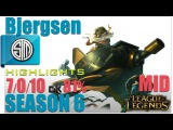 TSM Bjergsen | Corki Mid vs Yasuo Highlights | Pro Replays #109