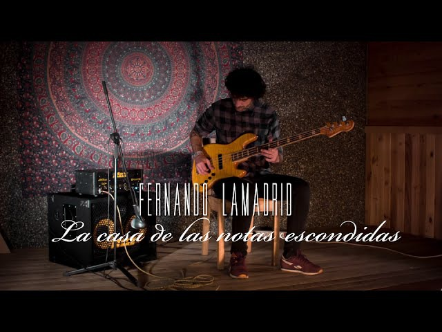 FERNANDO LAMADRID - LA CASA DE LAS NOTAS ESCONDIDAS (From his new album aproximaciones)