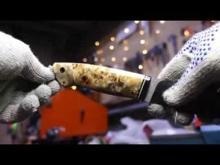 рукоять из корня тополя (скоро выложу видео целиком)