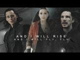 loki/ doctor strange /wanda || and I will rise