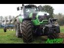 BIGGEST DEUTZ-FAHR 9340 TTV and LEMKEN JUWEL 8 - RAINY PLUGHING TEST | Agri957 A come Agricoltura