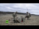 Grafenwöhr US Soldaten trainieren mit Blackhawk Hubschrauber Evakuierung verletzter Soldaten