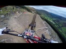 Dan Atherton Sends It Down the Hardline MTB Track Red Bull Hardline GoPro View