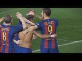 PES 2017: Neymar's Shirtless Goal Celebration