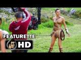 WONDER WOMAN B-Roll Behind the Scenes Featurette (2017) Gal Gadot Chris Pine Superhero Action HD