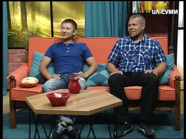 Альпіністи Володимир Рошко і Дмитро Романенко в Ранках