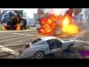 GTA 5 PC MODS GoPro Meteorite Apocalypse Drifting Challenge w/Volvo 242/68 Mustang