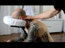 ASMR Chair Massage Back Neck, No Talking - Cupping Therapy, Gua Sha Pt 1