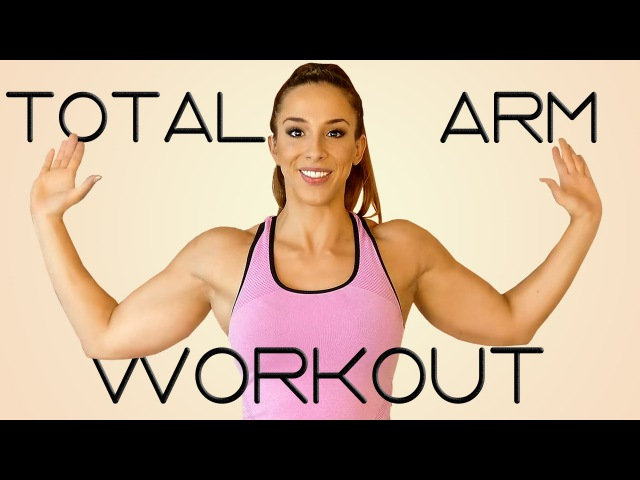 How to Lose Arm Fat   20 Minute Tone Arms Abs Workout Challenge! Beginners Home Fitness