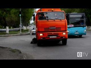проект 60 секунд - страдальный перекресток на ул. Газалиева и ул. Ермекова