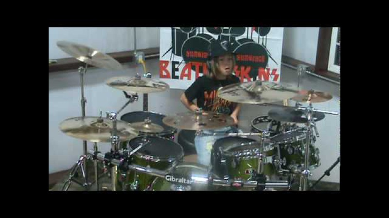 30 seconds to mars THE KILL Drum Cover```9 Year Old Austin Rios```