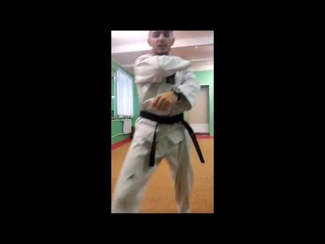 Taekwondo WTF. 5 Пхумсэ Тэгук О Джян.